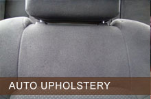 Automotive Upholstery Repair.